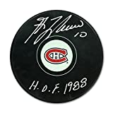 Guy Lafleur Autographed Hockey Puck - Montreal Canadiens