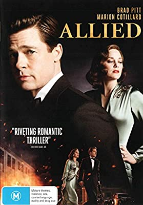 Allied Dvd Lizzy Caplan Marion Cotillard Brad Pitt Jared Harris Robert Zemeckis Amazon Com Au Movies Tv Shows