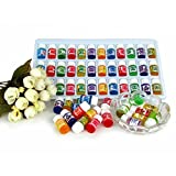 MSmask Pure Lavender Essential Oils Natural 36pcs/lot Water-soluble Pack Set Aromatherapy 12 Kinds of Fragrance Daily