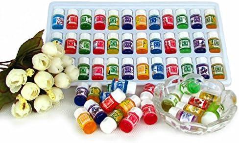 CAIDUD en Pure Lavender Essential Oils Pack para Diario Natural 36pcs / Lot Agua Soluble 12 Tipos de Fragancia Diario