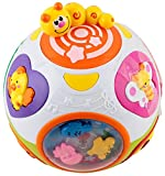 EastSun Early Educational Toddler Baby Move and Crawl Learning Baby Ball Toy with Lights, Music and Sounds for Children Kids Boys and Girls 6 Month Old to 3 Year Old
