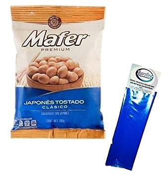 Mafer Mexicano Peanuts, Japones Tostado Clasico (Paquete de ...