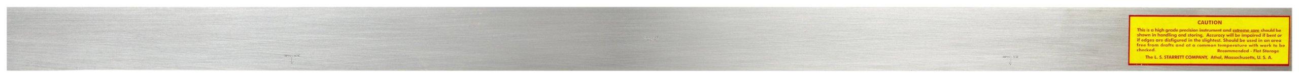 Starrett 380-48 48-Inch Steel Straight Edge