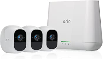 Netgear Arlo Pro 2 3-Camera Indoor/Outdoor Wireless Security System