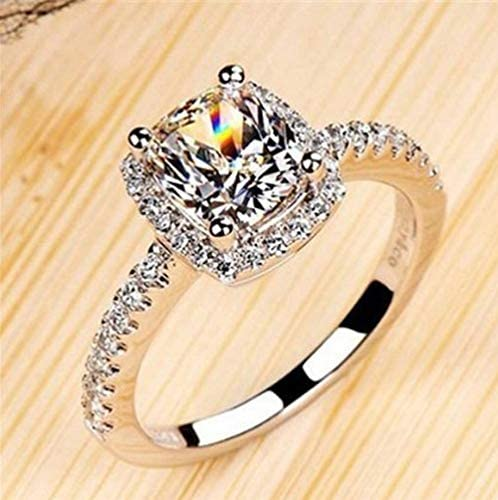 MLSKY Womens Ring Fashion Engagement Ring