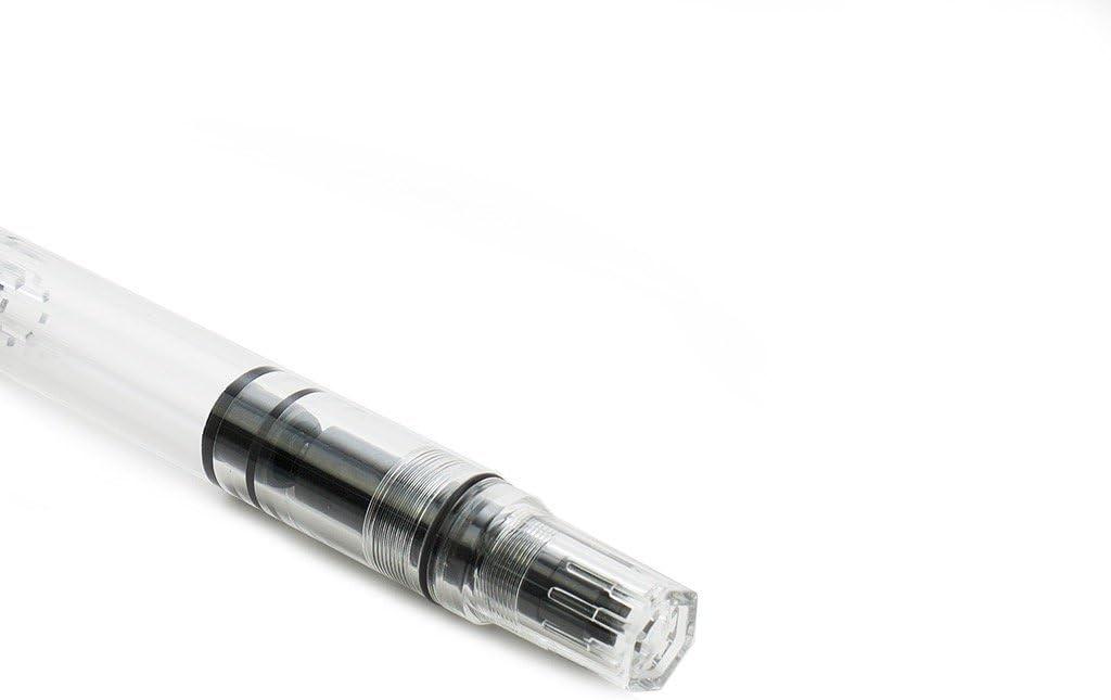 Worther color gris Pluma estilogr/áfica compacta