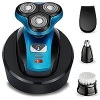 Perzcare Mens Electric Shaver Razor 4-in-1 Beard Trimmer