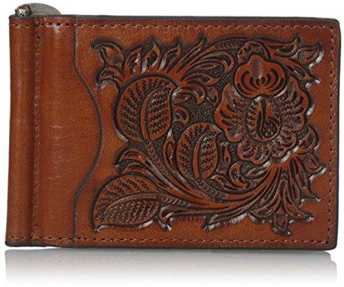 (Nocona Belt Co. Men's Nocona Pro Flower Leaf in Money, Tan, One Size)