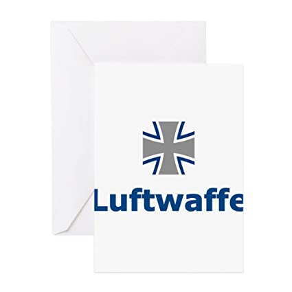 Amazon Cafepress Luftwaffe Logo Greeting Card Note Card