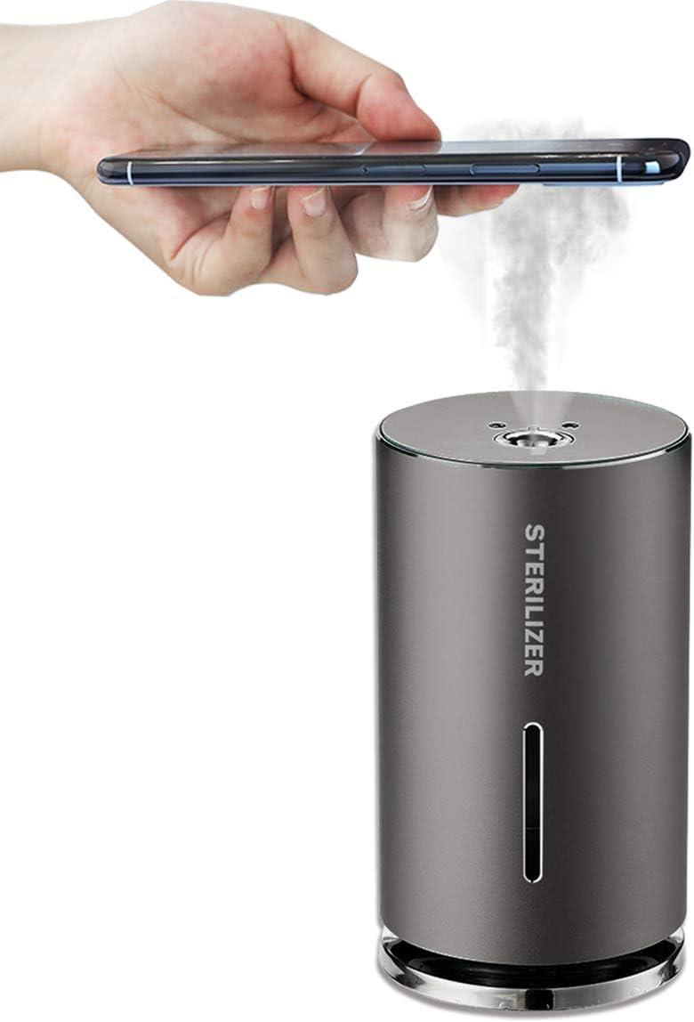 Alcohol sanitizer Dispenser Spray,Automatic Induction Sterilizer, Touchless Hand Sanitizer Dispenser, Portable Alcohol Spray Suitable for Home, Office,Restaurant, School, Hotel,Company