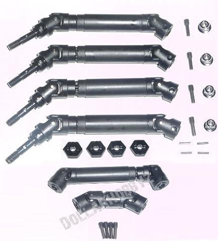 Traxxas 1/16 E-Revo * FRONT CENTER & REAR DRIVE SHAFTS & 12mm HEX WHEELS * - Traxxas Half Shafts