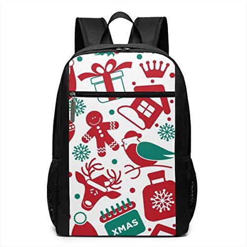 (PhyShen Snowman Roast Turkey Unisex Unique Shoulder Bags,Adult Student Double Zipper Closure Casual School Bag)