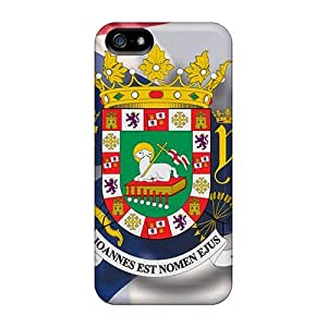Awesome Case Cover/iphone 5/5s Defender Case Cover(seal Of Puerto Rico)