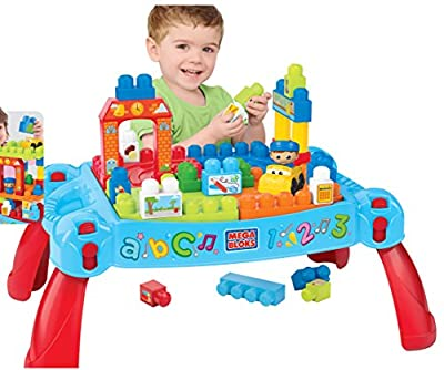 Mega Bloks®, Play 'n Go 3 in 1 Table and Blocks - Item #DCH98