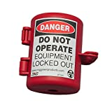 Zing Green Products ZING 7105 RecycLockout Lockout Tagout, Small Plug Lockout, Recycled Plastic