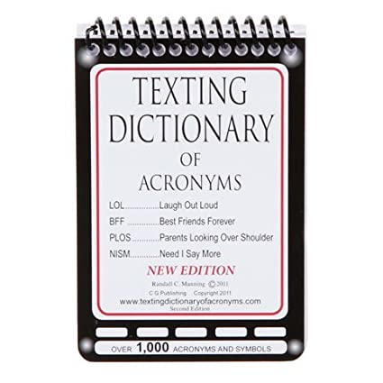 Amazon Texting Dictionary Of Acronyms Pocket Size