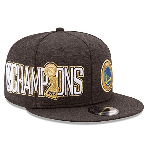 Golden State Warriors New Era 9FIFTY 2017 NBA Finals Champions Adjustable Snapback Hat / Cap