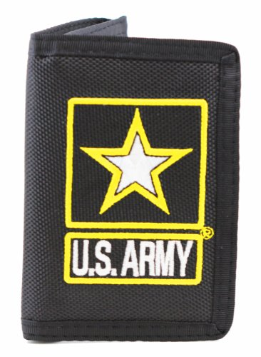 US Army Wallet Military Collectibles Patriotic Gifts for Men Women Teens Veterans Great Gift Idea for Wife, Husband, Relative, Boyfriend, Girlfriend, Grandparent, Fiance or Friend. Perfect Christmas Stocking Stuffer or Veterans Day Gift Idea. Design: For Women or Men! (Ideas For Grandparents Day)