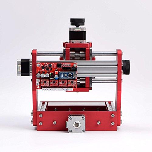 2 in 1 CNC Router CNC Engraver&500W laser Engraver /CNC engraving machine for copper and aluminum (CNC Router Surface Engraving Not Laser Engraving) Engraving area:126X88X38m