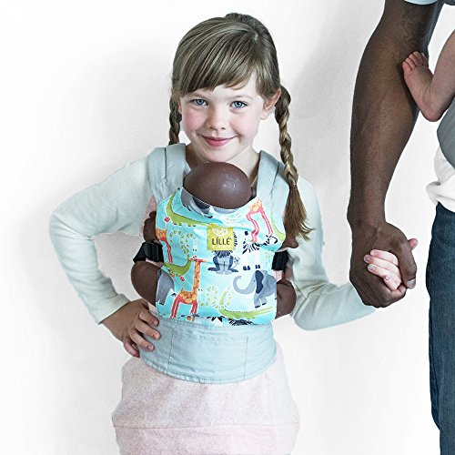 Check Out This LILLEbaby Doll Carrier - Jungle Jam