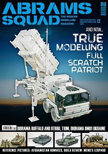 Modelling Magazine - Abrams Squad 12 working AFV model magazine The Modern Modelling Magazine