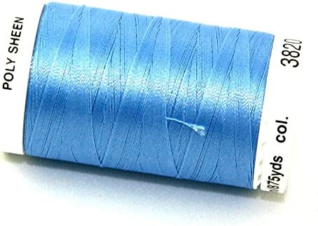 Mettler Poly Sheen 100/% Polyester Standard 18 Sewing Thread Embroidery Crafts