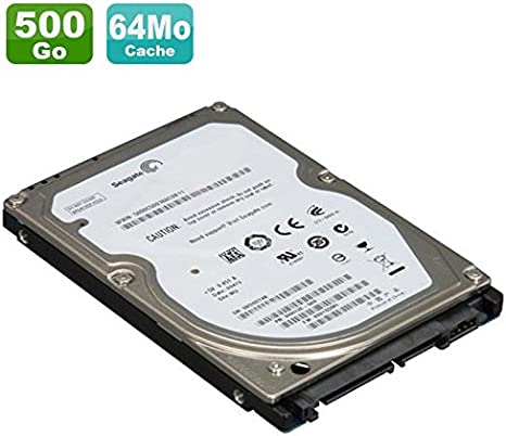 Seagate ST500LM000 - Disco Duro híbrido para portátil (500 GB ...