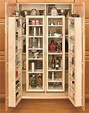 "Rev-A-Shelf 57"" Swing Kit Pantry Organizer, Natural"