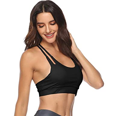 75e7ef1a5fe OutTop(TM) Sports Bras for Women Yoga Sport Running Bra Crop Top Stretch  Bras