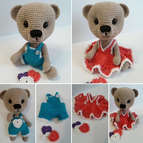 Teddy bear, Handmade toys, Crochet toys, Stuffed animals, Teddy, Amigurumi, Bear Teddy, Handcrafted, Stuffed toys, Crochet animals, Crochet bear, Croc…