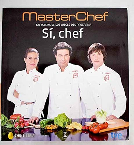 MasterChef Las recetas de los jueces del programa Sí, chef: Amazon ...