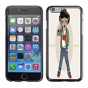 Dragon Case - FOR iPhone 6 - an hour to like someone - Caja protectora de pl??stico duro de la cubierta Dise?¡Ào Slim Fit