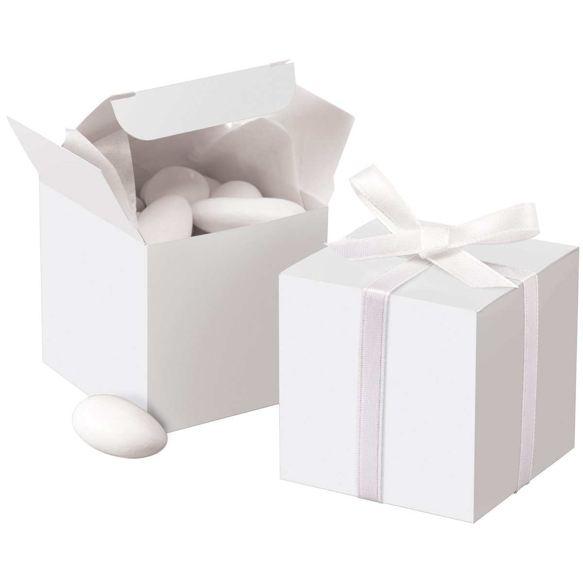 Wilton White Square Favor Box Kit, 100 Count, 1006-0631