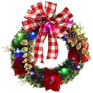Athoinsu Christmas Wreath 28