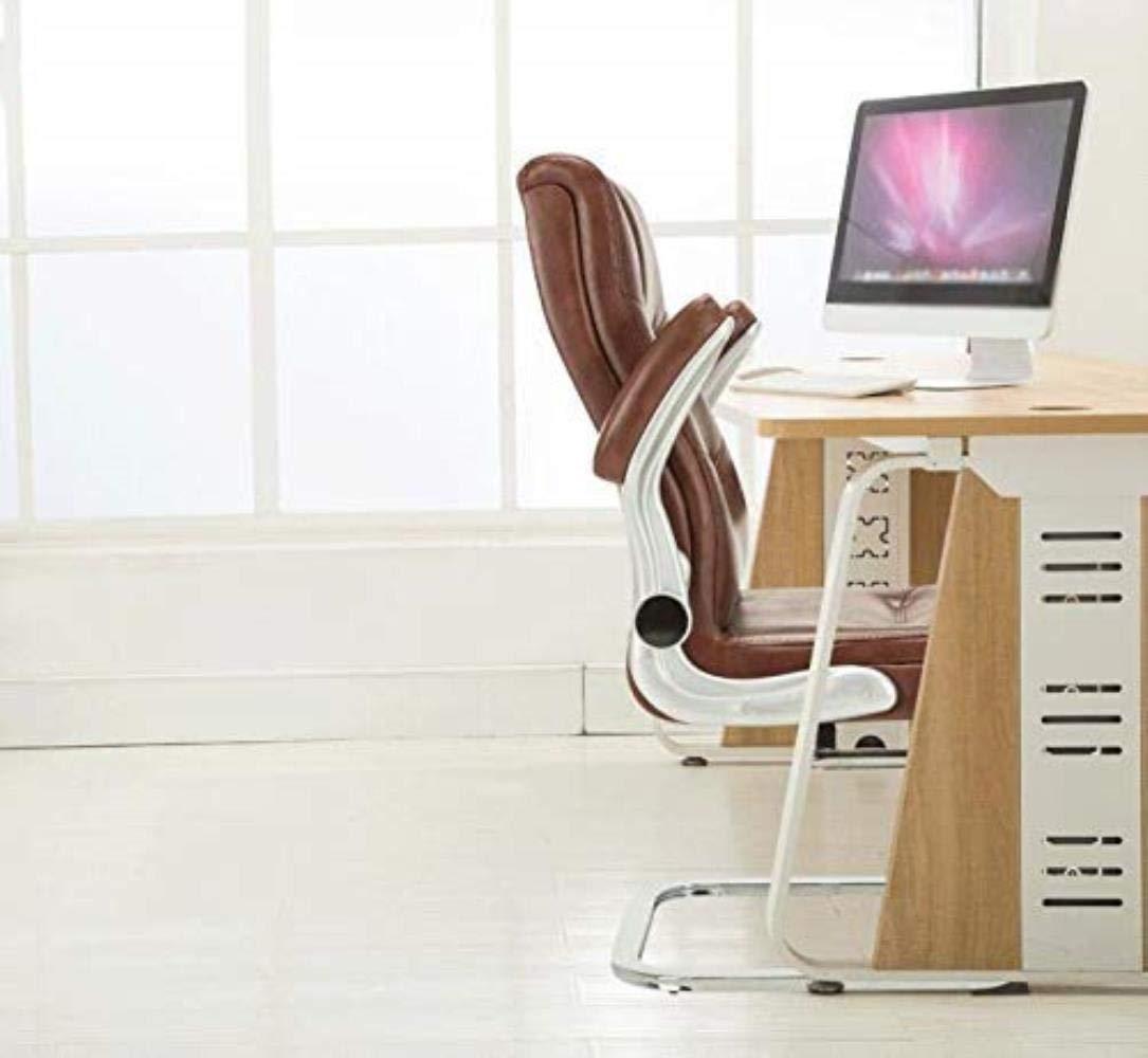 Skrivbordsstolar kontorsstol rosett stol hem kontor stol konferensstol personalstol svängbar kontorsstol säte kontor (färg: Kaki) BRUN