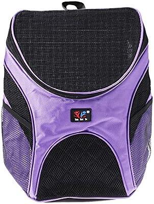 Aissimio Astronaut Pet Cat Dog Puppy Backpack Bag Carrier Travel Bag Breathable Blue 35x31x25cm