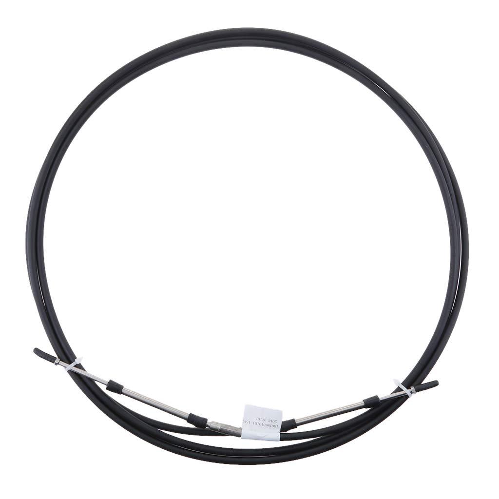gazechimp 8-21FT Universal Throttle Cable for ATV//ATC Dirt Mini Bike Throttle Shift Control Cables for Yamaha Honda Nissan Suzuki Volvo Outboard