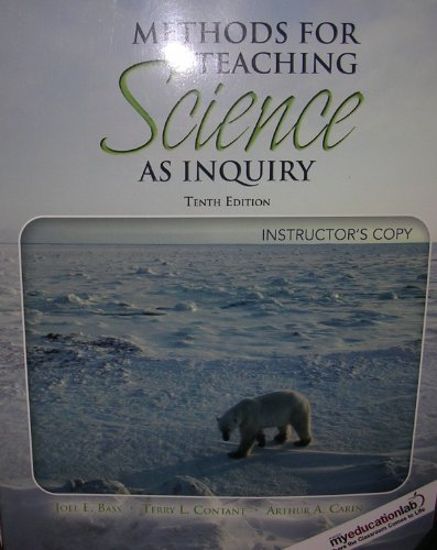 Methods for Teaching Science As Inquiry (Instructor's Copy)