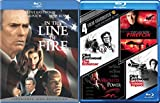 Action Films of Clint Eastwood 5 Pack Dirty Harry Sudden Impact & The Enforcer, Firefox, Absolute Power, Firefox & In the Line of Fire Blu-ray Bundle