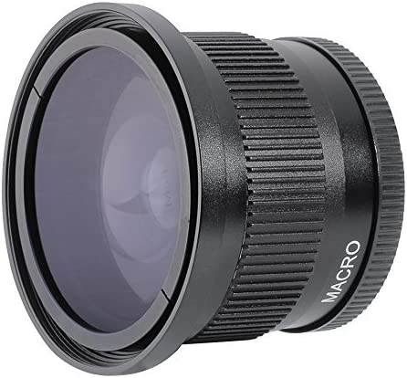 BW Elite New 0.35x High Grade Fisheye Lens For Canon Powershot A570 IS Includes Lens Adapter