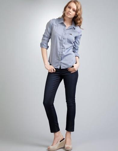 Lee Women's Scarlett Skinny Jeans Midnight Blue