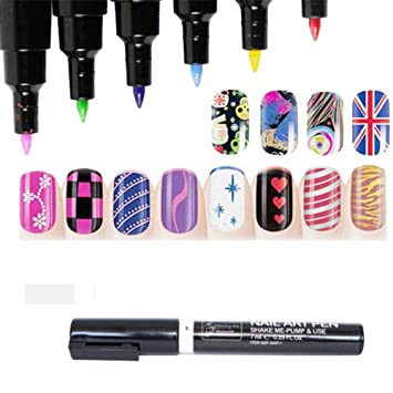 Buy generic 16 colours nail art pen painting design tool drawing generic 16 colours nail art pen painting design tool drawing for uv gel polish manicure prinsesfo Image collections