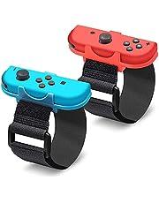 2 Pieces Bracelet Wrist Hand Arm Strap for Nintendo Switch Joy-Con Controller Just Dance