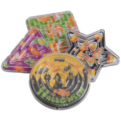 DollarItemDirect Halloween Candy Maze Puzzles , Sold by 27 Dozens ()