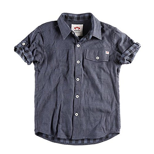 Appaman Coat Sale (Appaman Boys' Toddler Harvey Shirt, Navy Birdseye,)