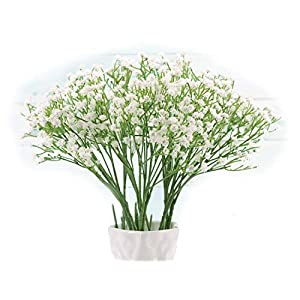 "Floral Kingdom Artificial 16"" White Baby's Breath Flowers for Floral Arrangements, Home, Office. Weddings 2"