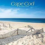 Cape Cod 2021 12 x 12 Inch Monthly Square Wall Calendar, Ocean Sea Coast Massachusetts