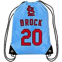 MLB St. Louis Cardinals Lou Brock Brock L. #20 Hall of Fame Drawstring Backpack
