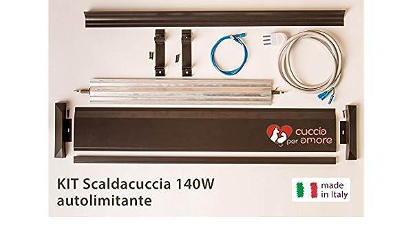 Caseta para amor - Calentador eléctrico Caseta 140 W de kit (calienta la caseta del tuo perro): Amazon.es: Hogar