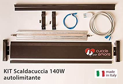 Caseta para amor – Calentador eléctrico Caseta 140 W de kit (calienta la caseta del